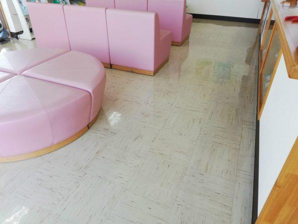 Pタイル定期清掃