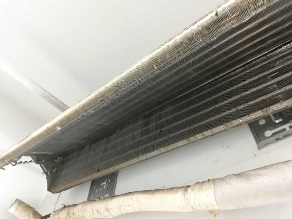 熱交換器の内側
