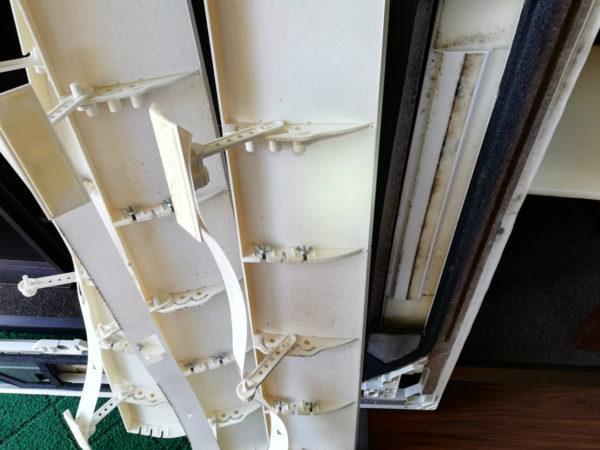 風除け板と化粧板