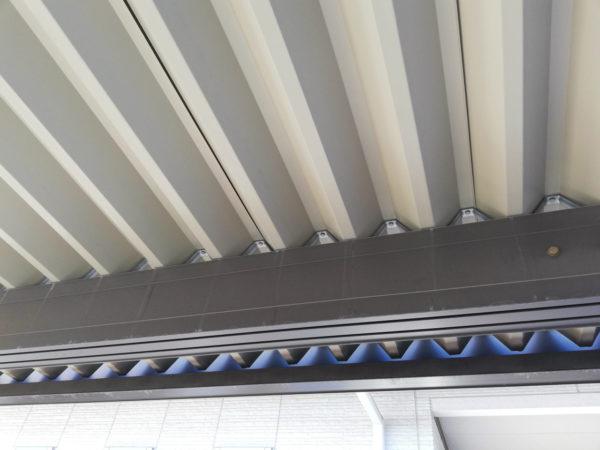 カーポート天井裏