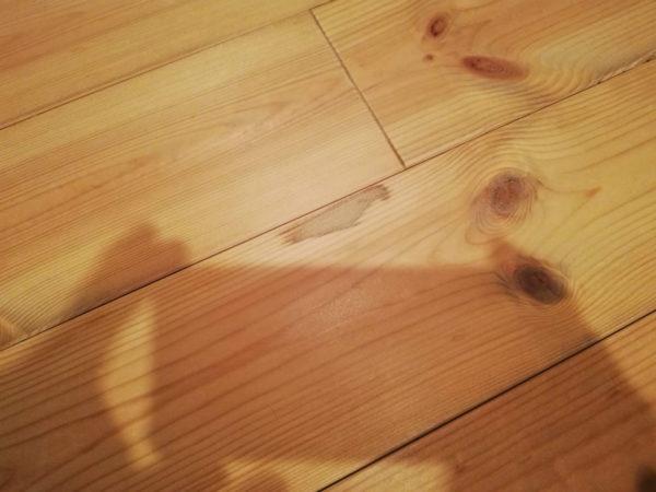 床板のシミ