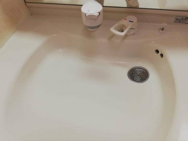 樹脂製洗面ボウル